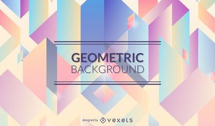 Geometric background in pastel tones