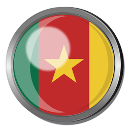 Cameroon flag badge