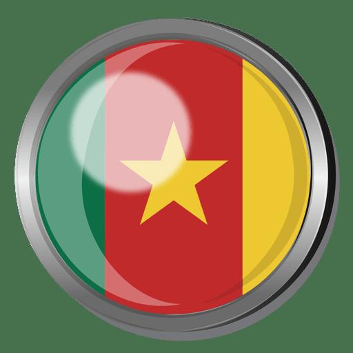 Insignia de la bandera de camerún Transparent PNG