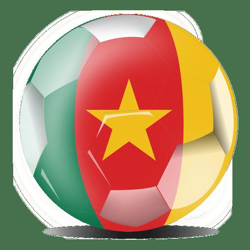 Bandera de camerun Transparent PNG