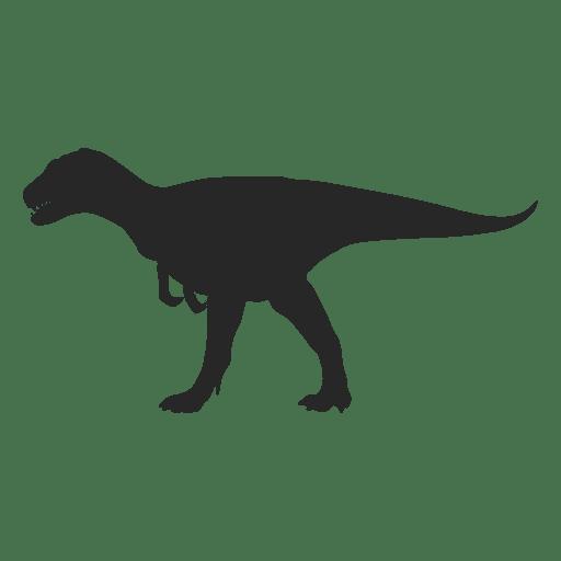 Silueta de carnotaurus Transparent PNG