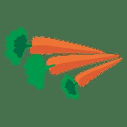 Dibujos animados de zanahoria
