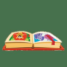 Libro de dibujos animados