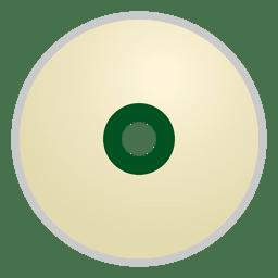 Disco cd en blanco