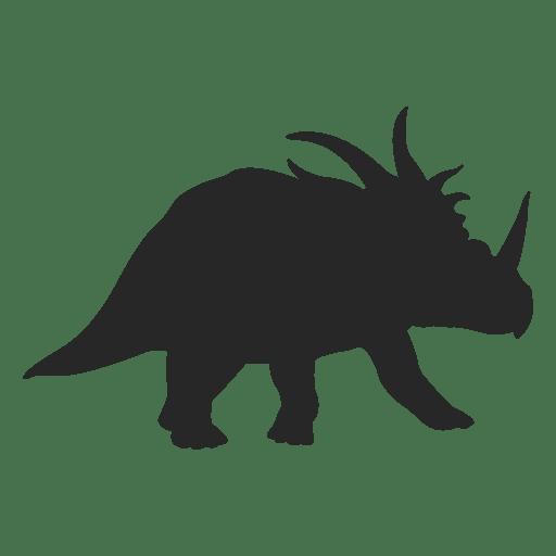 Silueta ceratopsiana Transparent PNG