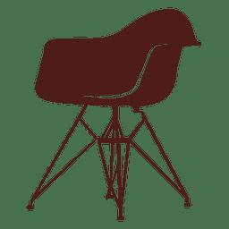 Charles i ray eames silla 1949