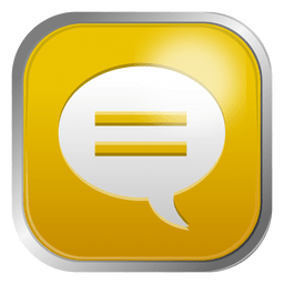 Chat bubble icon 3