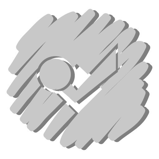 Check dot distorted icon Transparent PNG