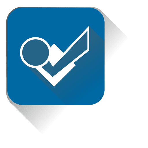 Check files squared icon Transparent PNG