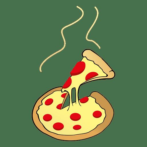 Käsepizza-Karikatur Transparent PNG