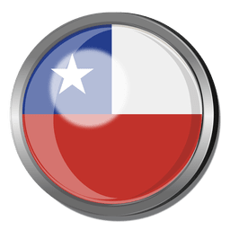 Chile flag badge