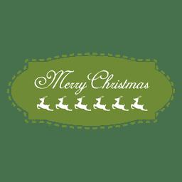 Etiqueta do Natal 8