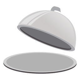 Cloche serving dish