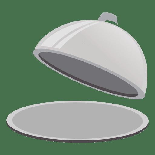 Cloche serving dish Transparent PNG