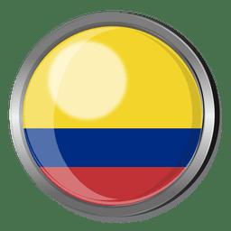 Colombia divisa de la bandera