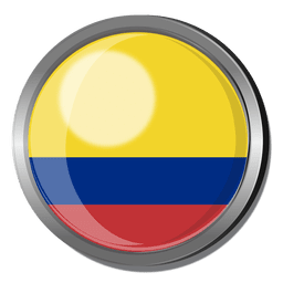 Colombia flag badge