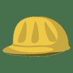 Capacete de trabalhador de construção