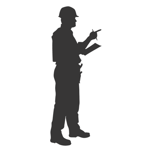 Construction worker supervising Transparent PNG