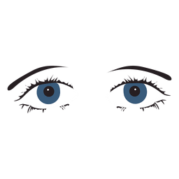 Cool female eyes