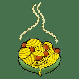 Corns cartoon