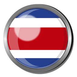 Costa Rica divisa de la bandera