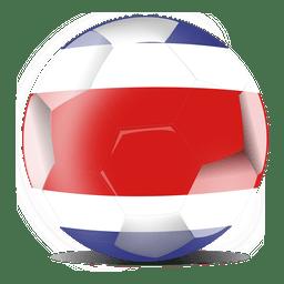 Costa Rica futebol de bandeira