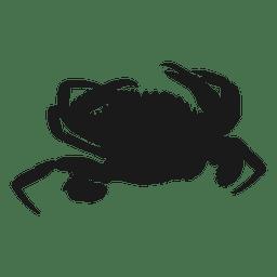 Silueta de cangrejo