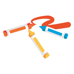 Crayon markers