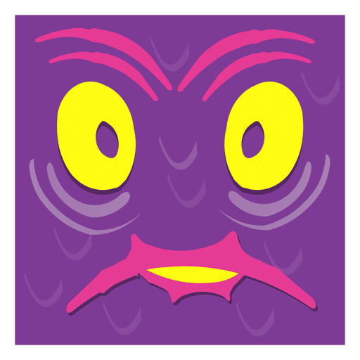 Crazy face art Transparent PNG