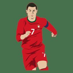 Cristiano Ronaldo Karikatur