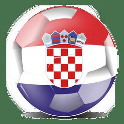 Fútbol de bandera de Croacia