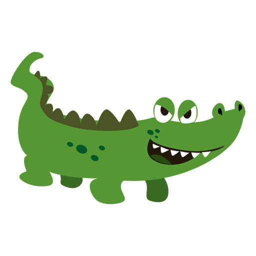 Crocodile cartoon - Transparent PNG & SVG vector - photo#42
