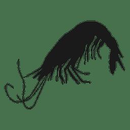 Crustacean silhouette