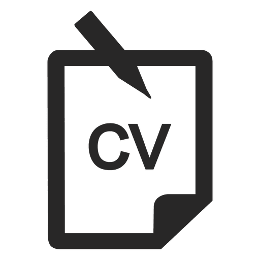 Cv Icon Transparent Png Svg Vector