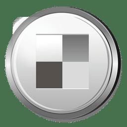 Delicious silver logo