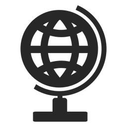 Icono de escritorio de globo