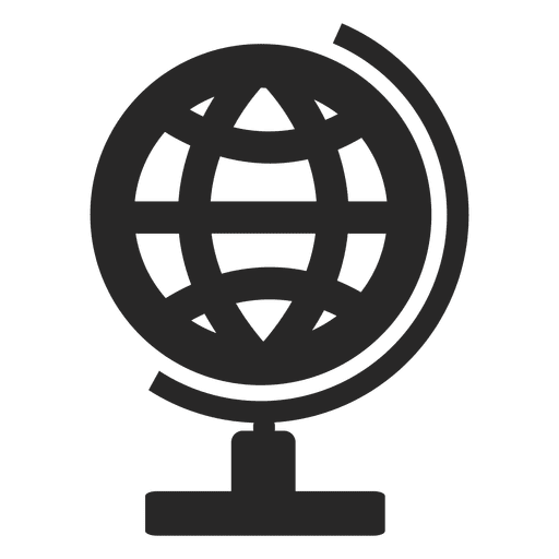 Desk globe icon Transparent PNG