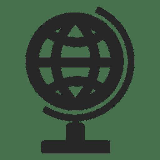 Globe Desk Icon Transparent PNG