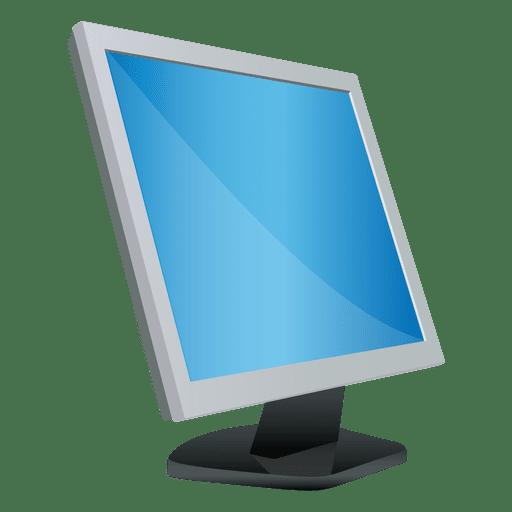 Desktop monitor cartoon Transparent PNG
