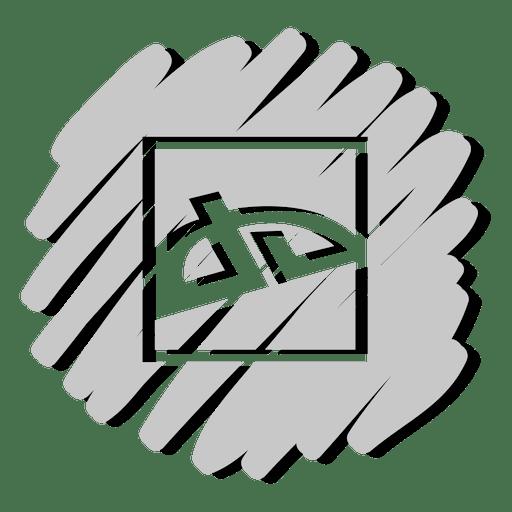 Deviantart distorted icon Transparent PNG