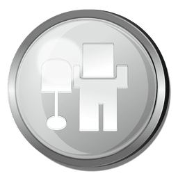 Digg Logo runden Metallknopf