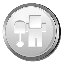 Digg logo silver