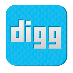 Digg rubber icon 1