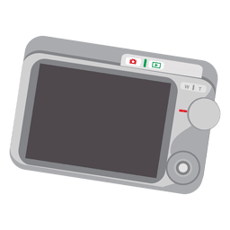 Digital camera screen