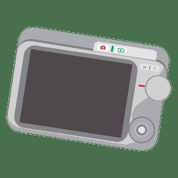 Pantalla de camara digital