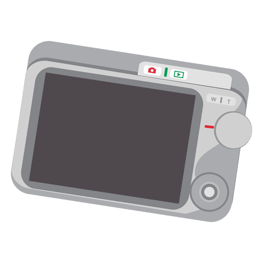Pantalla de camara digital Transparent PNG