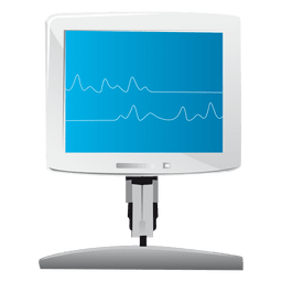 Display monitor icon