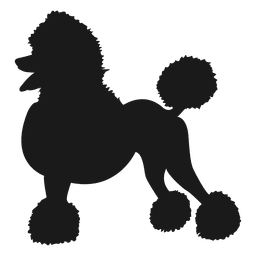 silueta del perro 2