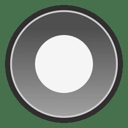 Dot botón de manzana seleccionado