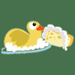 Dibujos animados de pato